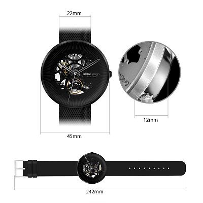 Xiaomi CIGA Design Watch Jia MY Series (Black)