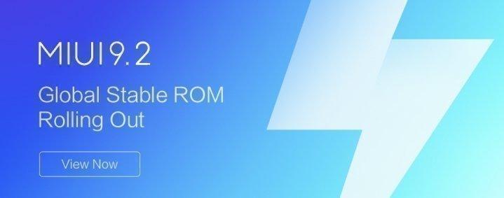 Xiaomi Mi 6 получил обновление MIUI 9.2.3 и Android 8.0 Oreo